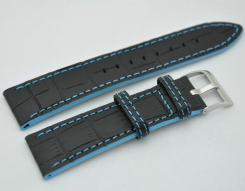 LeVeL 426.1.20 чёрный светло-синяя нитка